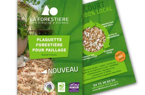 NOUVEAU : PLAQUETTE FORESTIÈRE POUR PAILLAGE